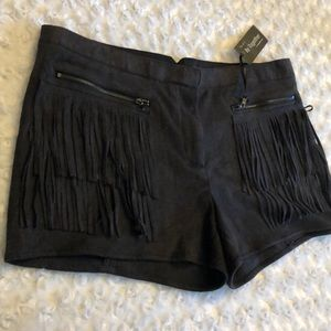 By Together Soft Fringed Shorts
